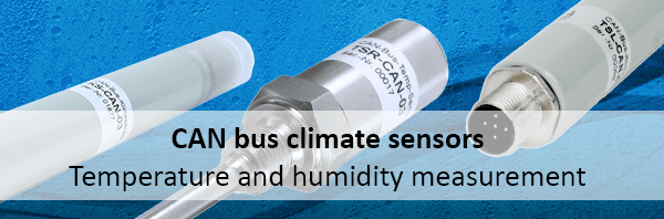 Overview CAN bus climate sensors
