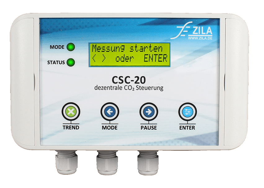 Product CSC-20 control device with CO2 sensor and display