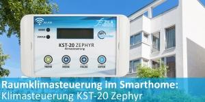 KST-20 Zephyr: Klimasteuerung mit WLAN
