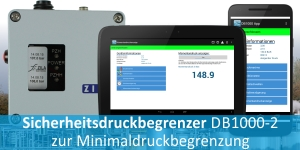 DB1000/2-L mit Minimal-Drucküberwachung