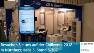 Besuchen Sie uns auf der Chillventa 2018 in Nürnberg Halle 5, Stand 5-307