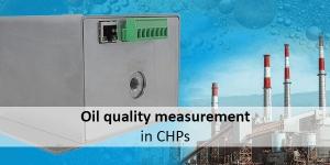 New sensor solution: Oil quality measurement in CHPs
