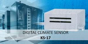 Digital climate sensor KS-17: Protection of sensitive electrical devices through climate monitoring