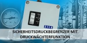 DW500: Sicherheitsdruckbegrenzer mit Druckwächterfunktion
