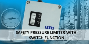 DW500: Safety pressure limiter with switch function