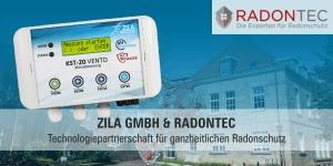 ZILA GmbH & RadonTec präsentieren Lüftungssteuerung zum ganzheitlichen Radonschutz