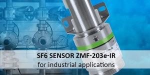 New product: Sensor for sulphur hexaflouride concentration measurement