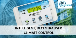 Intelligent, decentralised climate control thanks to flexible actuator selection