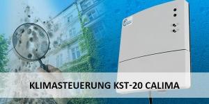 Produktneuheit: Klimasteuerung KST-20 Calima