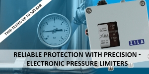 Reliable protection with precision - Electronic pressure limiters