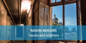 Radon inside the house, in the cellar or basement