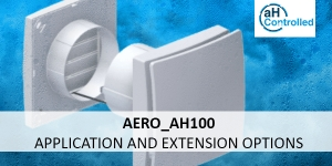 Fields of application and extension options of the Aero_aH100
