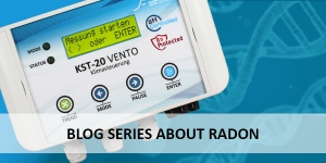 Blog series about radon