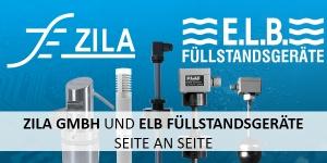 ZILA GmbH und E.L.B. Füllstandsgeräte GmbH Seite an Seite