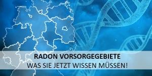 Neue Radon-Vorsorgebiete – Zeit zu handeln