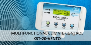 KST-20 Vento - multifunctional climate control for intelligent room dehumidification, ventilation and cooling