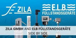 ZILA GmbH and E.L.B. Füllstandsgeräte GmbH side by side