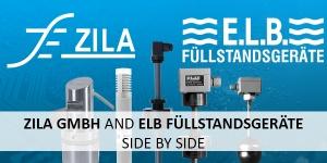 ZILA GmbH and E.L.B. Füllstandsgeräte GmbH side by side