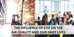 The influence of CO2 on the air quality and our daily lives