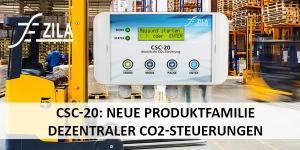 CSC-20: Neue Produktfamilie dezentraler CO2-Steuerungen
